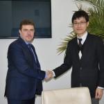 Aladin Georgescu, întâlnire cu reprezentantul Ambasadei Japoniei în România