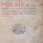 Prima traducere în italiană a lui Eminescu