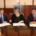 """Aladin Georgescu (CJ Mehedinţi): """"Am semnat cel mai ambiţios proiect depus de Consiliul Judeţean Mehedinţi"""""""