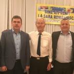 """Aladin Georgescu: """"Îmi exprim solidaritatea şi deschiderea pentru orice forme de colaborare în beneficiul românilor din afara graniţelor ţării"""""""