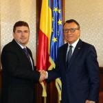 Contracte de finanţare de 80.682.353 lei semnate de preşedintele Consiliului Judeţean Mehedinţi, Aladin Georgescu