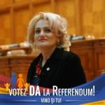 """Deputata Alina Teiş, declaraţie politică: """"Spunem «DA» pentru viitorul copiilor noştri!"""""""