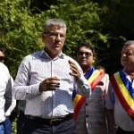"""Aladin Georgescu: """"Ministrul Ioan Deneș a dat asigurări că artera turistică de la Mraconia va fi trecută în administrarea Consiliului Județean"""""""