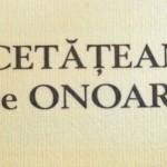 """Proiect pentru aprobarea unui Regulament de acordare a titlului de """"Cetăţean de Onoare"""" al municipiului Drobeta Turnu Severin"""
