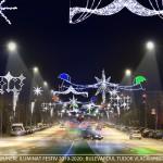 Iluminatul festiv din Drobeta Turnu Severin, în plină desfășurare