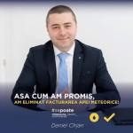 """Viceprimarul Daniel Cîrjan: """"Severinenii nu mai plătesc apa meteorică"""""""