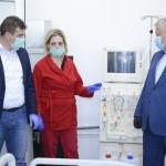 Noile saloane de Terapie Intensivă de la Spitalul Județean Drobeta Turnu Severin, dotate cu aparatură de urgență