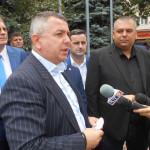 """Eduard Koler (PMP) la depunerea candidaturii pentru Primăria Severin: """"Încet, încet acest oraș se stinge. Trebuie să dezvoltăm acest oraș, am rămas foarte mult în urmă"""""""