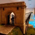 Cum arată noua machetă a Podului lui Traian construit de Apollodor din Damasc de la Drobeta Turnu Severin