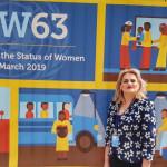 """Deputata Alina Teiş, la New York: """"Mesajul puternic din cadrul ONU este că rolul femeilor este acela de a aduce viaţă, echilibru şi frumuseţe"""""""