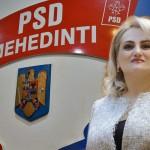"""Alina Teiș, declarație politică: """"Susținem candidatura premierului Viorica Dăncilă pentru funcția de președinte al Partidului Social Democrat"""""""