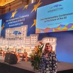 """Deputata Alina Teiş, declaraţie politică: """"Promovarea coeziunii ca valoare comună europeană – principalul obiectiv al Preşedinţiei României la Consiliul Uniunii Europene """""""