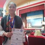 O elevă din județul Mehedinți a obținut Medalia de bronz la Olimpiada Națională de Matematică