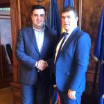 """Aladin Georgescu:  """"Am discutat cu ministrul Transporturilor ca Portul din Severin să treacă la Primărie, dar și să înființăm un port comercial în comuna Gogoșu"""""""