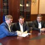 Aladin Georgescu a semnat un contract de 16 milioane de euro pentru Spitalul Județean la Ministerul Dezvoltării