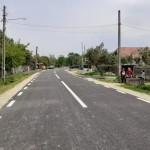 Locuitorii din Albulești au pentru prima dată un drum asfaltat