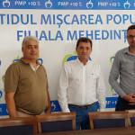 Daniel Vezureanu și Daniel Căiniceanu, candidații PMP Mehedinți pentru comunele Devesel și Ilovița